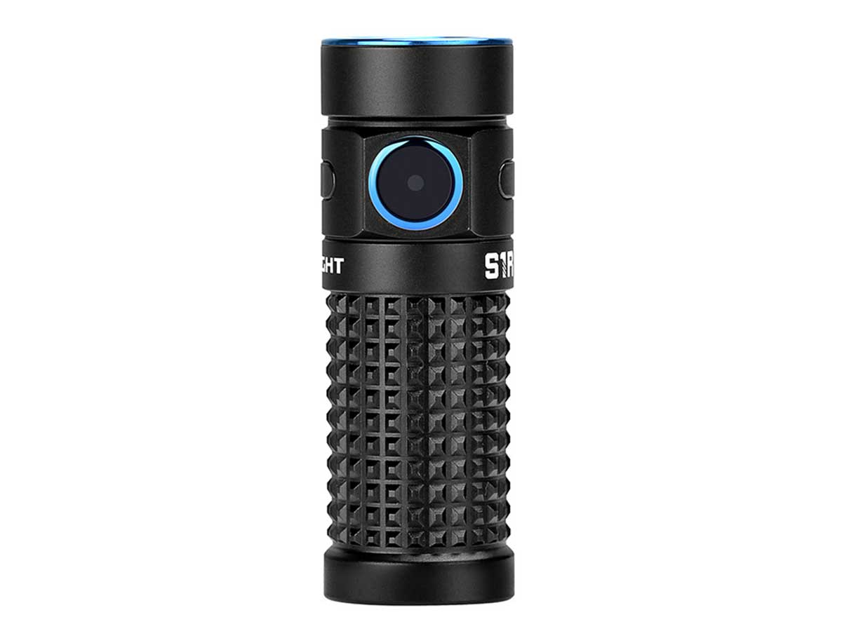 Olight S1R II LED Flashlight at angle