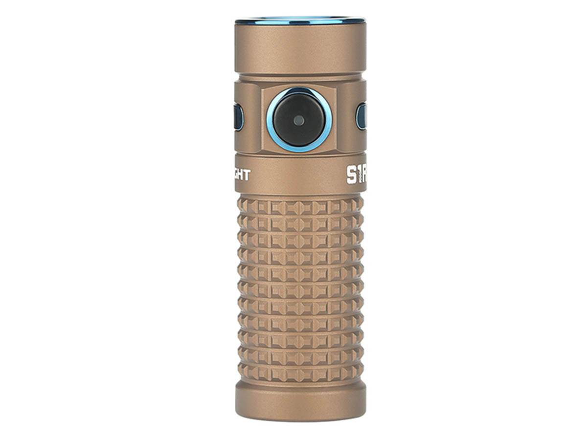 Olight S1R II LED rear angle view
