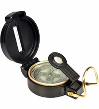 Ultimate Survival Technologies Lensatic Compass with Glow-in-the-Dark Directional Letters - Black (20-310-DC45)