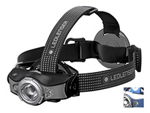 Ledlenser MH11 Rechargeable LED Headlamp - Xtreme LED - 1000 Lumens - Includes 1 x 18650 - Blue or Grey - Box