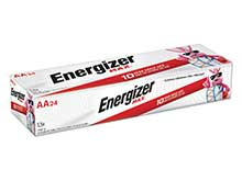 Energizer Max E91 AA 1.5V Alkaline Button Top Batteries - 24 Pack