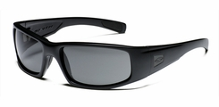 Smith Optics - HIDEOUT Tactical Sunglasses with Black Frames with Polarized Gray Lenses