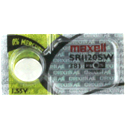Maxell SR1120SW 381 55mAh 1.55V Silver Oxide Button Cell Battery - Hologram Packaging - 1 Piece Tear Strip, Sold Individually