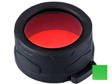 Nitecore NFR50 (Red) and NFG50 (Green) Filters for the P30, New P30, MT40, and MT40GT