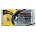Maxell SR516SW 317 12.5mAh 1.55V Silver Oxide Button Cell Battery - Hologram Packaging - 1 Piece Tear Strip, Sold Individually