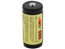 Efest 3540 RCR123A / 16340 850mAh 3.7V Protected Lithium Ion (Li-ion) Button Top Battery - Boxed