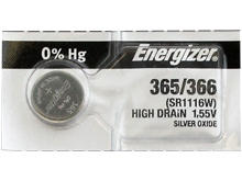 Energizer 365 Silver Oxide Watch Battery 1pc (Each)