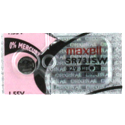 Maxell SR731SW 329 36mAh 1.55V Silver Oxide Button Cell Battery - Hologram Packaging - 1 Piece Tear Strip, Sold Individually