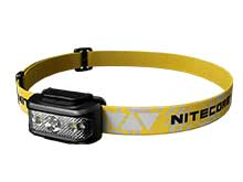 Nitecore NU17 Dual-Output Rechargeable Headlamp - CREE XP-G2 S3 - 130 Lumens - Includes Built-In Li-ion Battery Pack