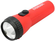 Energizer Eveready EVEL15HS Economy LED Flashlight - 25 Lumens - Includes 1 x D Battery - Colors May Vary