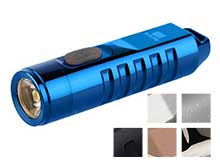 RovyVon A2 Mini Keychain Rechargeable LED Flashlight- 550 Lumens - CREE XP-G3 - Includes Built-In Li-ion Battery Pack