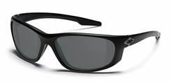 Smith Optics - CHAMBER Tactical Sunglasses with Black Frames with Gray Lenses
