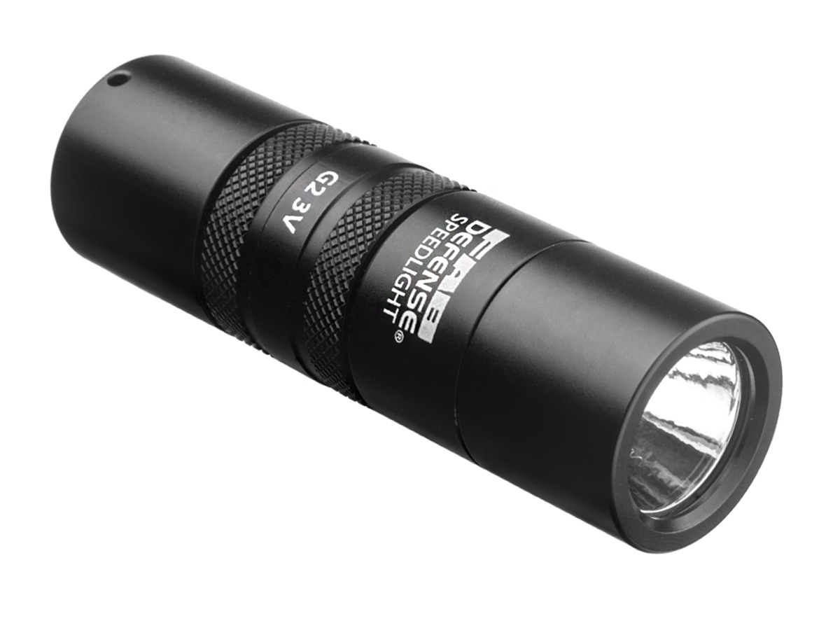 The Mako Group Defense Speedlight Flashlight right side angle