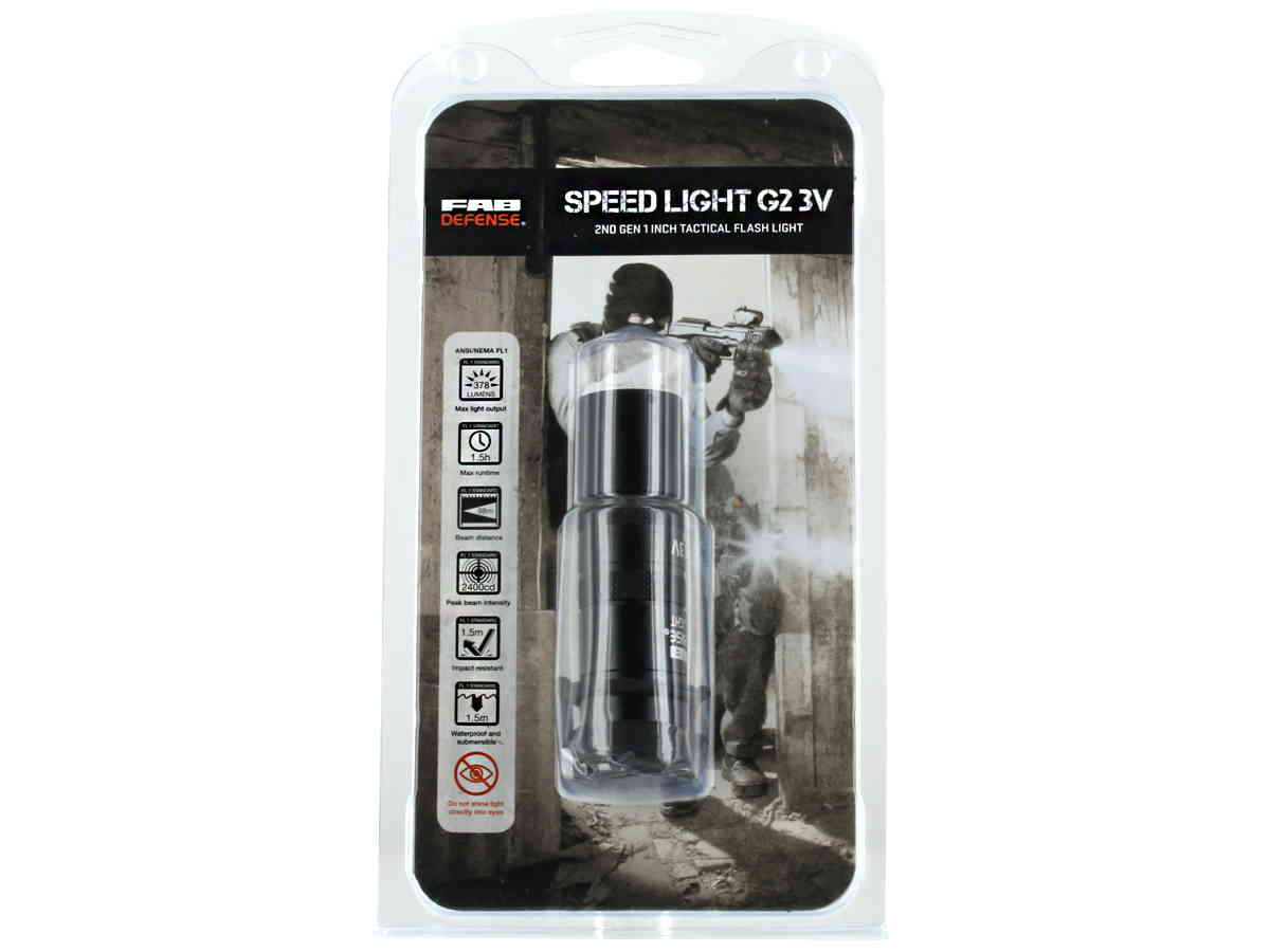 Packaging for flashlight