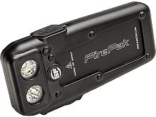 SureFire FirePak Flashlight and Battery Pack - 2 x CREE XM-L2 CW LEDs - 1500 Lumens - Includes Built-In Li-Ion Battery Pack