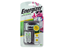 Energizer Recharge Basic Charger for AA or AAA NiMH Batteries - Includes 2 x AA NiMH Batteries (CHVCWB2)