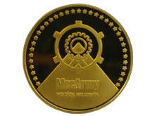 MecArmy EDC Coin - Comes in Brass or Copper