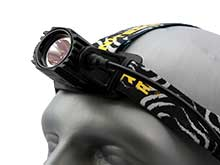 Nitecore HA40 LED Headlamp - CREE XM-L2 U2 LED - 1000 Lumens - Uses 4 x AA