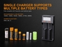 manufacturer slide about battery compatibility
