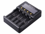 Fenix ARE-C2 4-bay Smart Charger left side angle