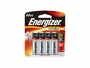 Energizer Max AA batteries in 2 piece retail card
