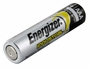 Single Energizer Industrial AAA battery left side angle