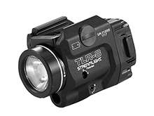 Streamlight 69410 TLR-8 Full-size and Compact LED Pistol Light with Red Laser - Rail Locating Keys - 500 Lumens - Includes 1 x CR123A - Box Packaging