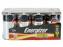 Energizer Max E95 D batteries in 8 piece family pack