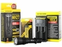 Nitecore MH27 flashlight with battery and i2 charger
