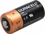 Angle Shot of the Duracell DL 2/3A