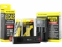 Nitecore EC4S searchlight with battery and i2 charger