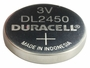Angle Shot of the Duracell DL CR2450