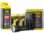 Nitecore P36 flashlight with batteries and i2 charger