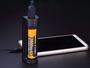 Fenix ARE-X1 with Fenix 18650 battery charger an iPhone