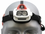 Up-Close Front Shot of the Petzl NAO + Rechargeable Multi-Beam LED Headlamp
