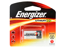 Energizer ELCR123A-BP 1500mAh 3V Lithium Primary (LiMNO2) Button Top Photo Battery - 1  Piece Retail Card