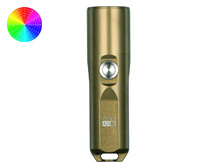 RovyVon Aurora A23 Pro Compact EDC Rechargeable Flashlight - CREE or Nichia LED - Includes 600mAh Li-Poly Battery pack - Military Tan