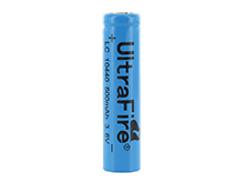 UltraFire UF AAA 10440 500mAh 3.6V Unprotected Lithium Ion (Li-ion) Button Top Battery - Bulk