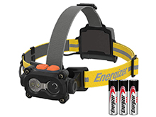 Energizer Hard Case Professional LED Headlamp  - 325 Lumens - Includes 3 x AA Batteries - TUFHD31PE-V2