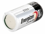 Energizer CR123A left side angle