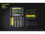 Nitecore UMS4 Charger manufacturer slide about fast charging