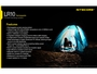 Features of the Nitecore LR10