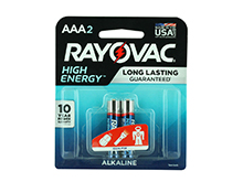 Rayovac AAA High Energy Batteries - 2 Pk Retail Card - (824-2K)