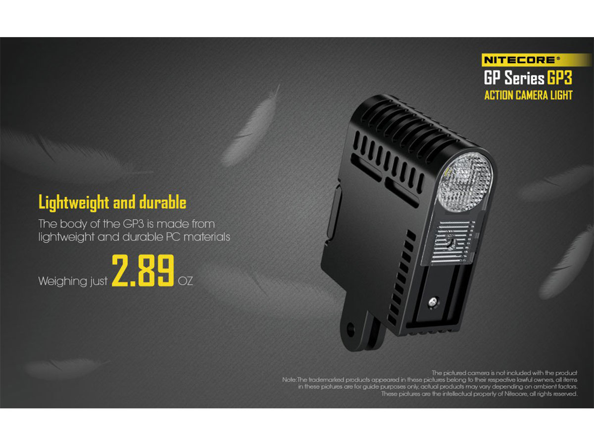 Nitecore GP3 Lightweight and Durable