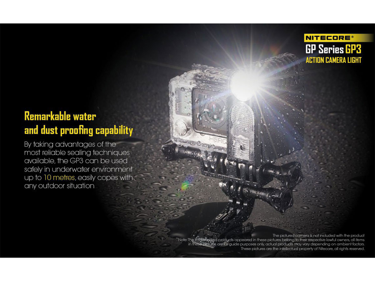 Nitecore GP3 Water and Dust Proof