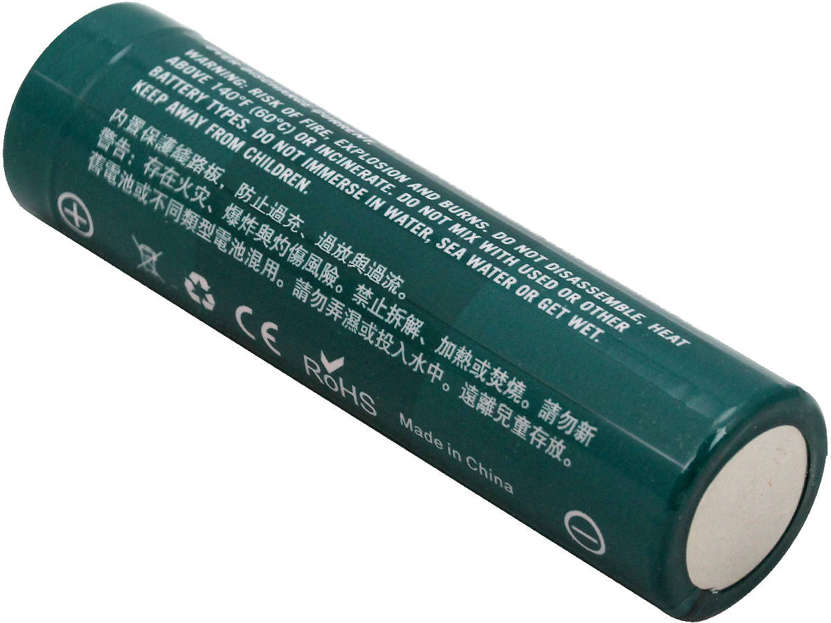 Bottom Terminal of the Olight ORB-186P36 18650 Lithium Ion Battery