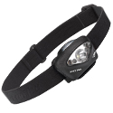 Princeton Tec Vizz Industrial Headlamp - 5 x LEDs - 205 Lumens - Includes 3 x AAAs - Black