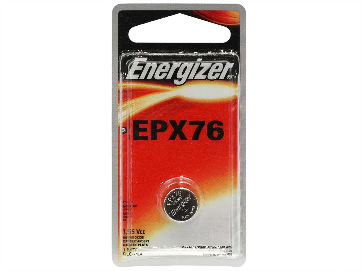 Energizer EPX7 watch battery in 1 piece blister packaging