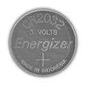 Energizer ECR2032 (4000PK) 240mAh 3V Lithium Primary (LiMNO2) Coin Cell Batteries - Case of 4000