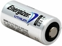 Energizer CR123A battery right side angle